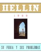 Programa de la Feria de Hellín - 1969
