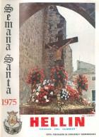 Programa de Actos de Semana Santa de Hellín - 1975