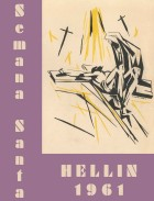 Programa de Actos de Semana Santa de Hellín - 1961