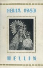 Programa de la Feria de Hellín - 1960
