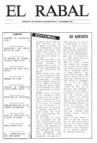 El Rabal - Diciembre 1985