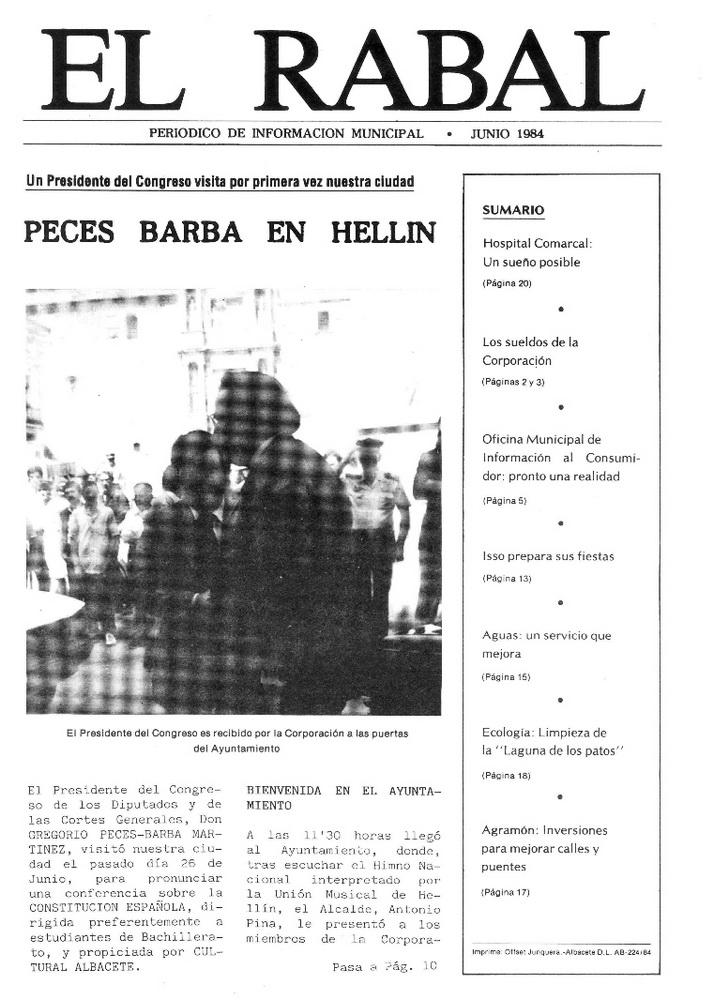 El Rabal - Junio 1984