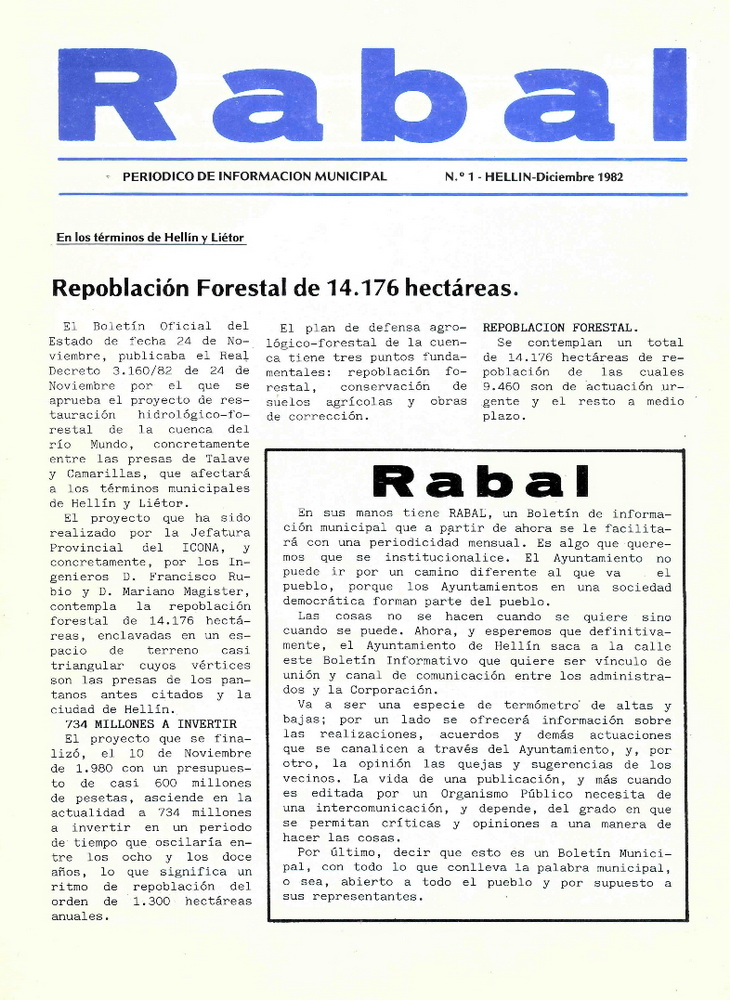 El Rabal - Diciembre 1982