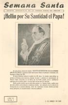 Boletín informativo de la Semana Santa de Hellín - 1956