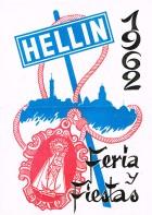 Programa de la Feria de Hellín - 1962