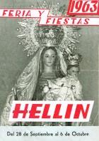 Programa de la Feria de Hellín - 1963