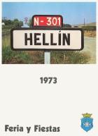 Programa de la Feria de Hellín - 1973