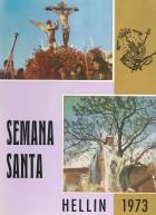 Programa de Actos de Semana Santa de Hellín - 1973