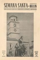 Boletín informativo de la Semana Santa de Hellín - 1968