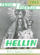 Programa de la Feria de Hellín - 1965