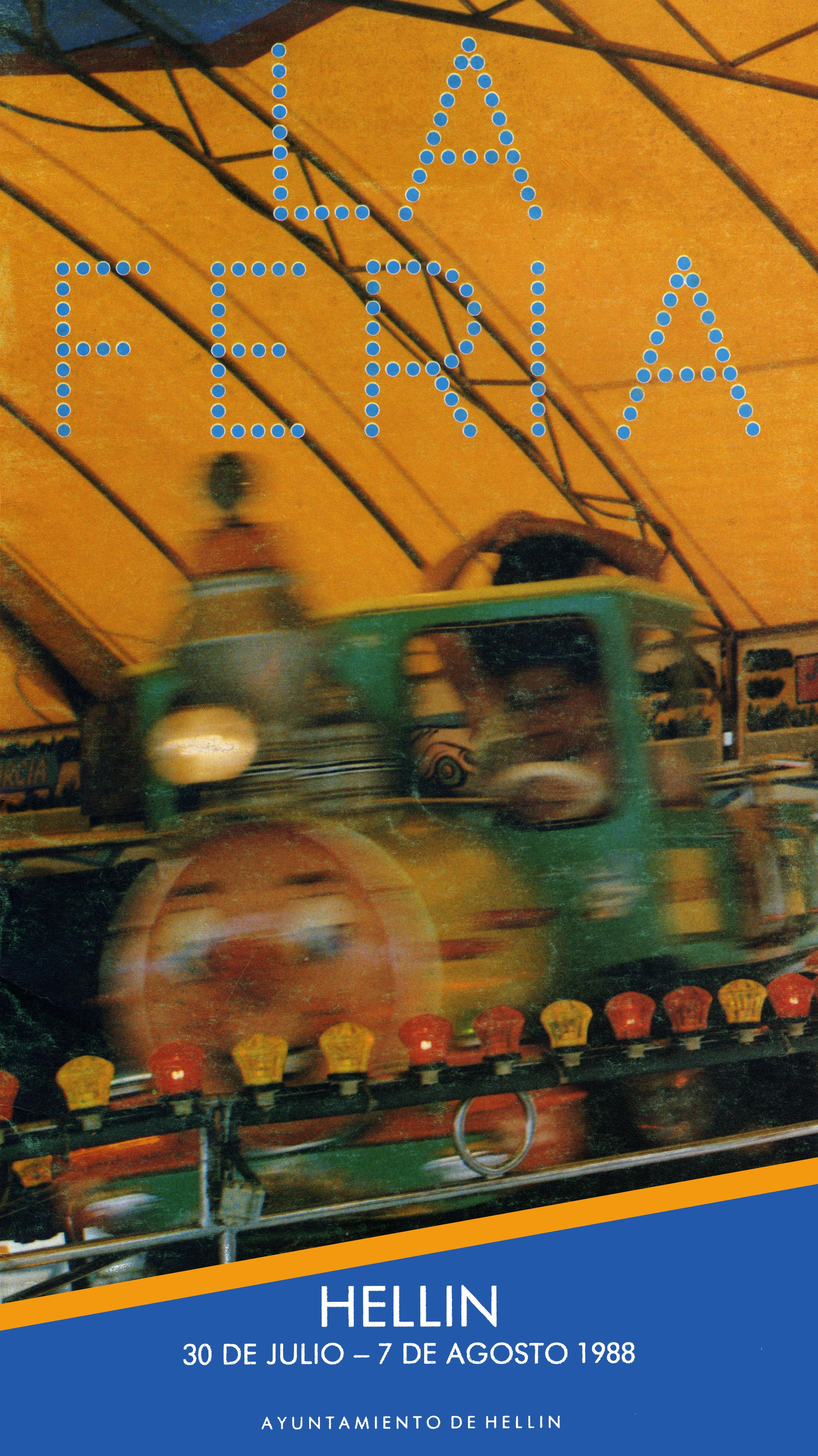 Programa de la Feria de Hellín - 1988
