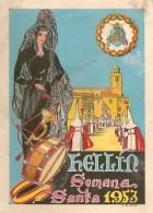 Programa de Actos de Semana Santa de Hellín - 1953