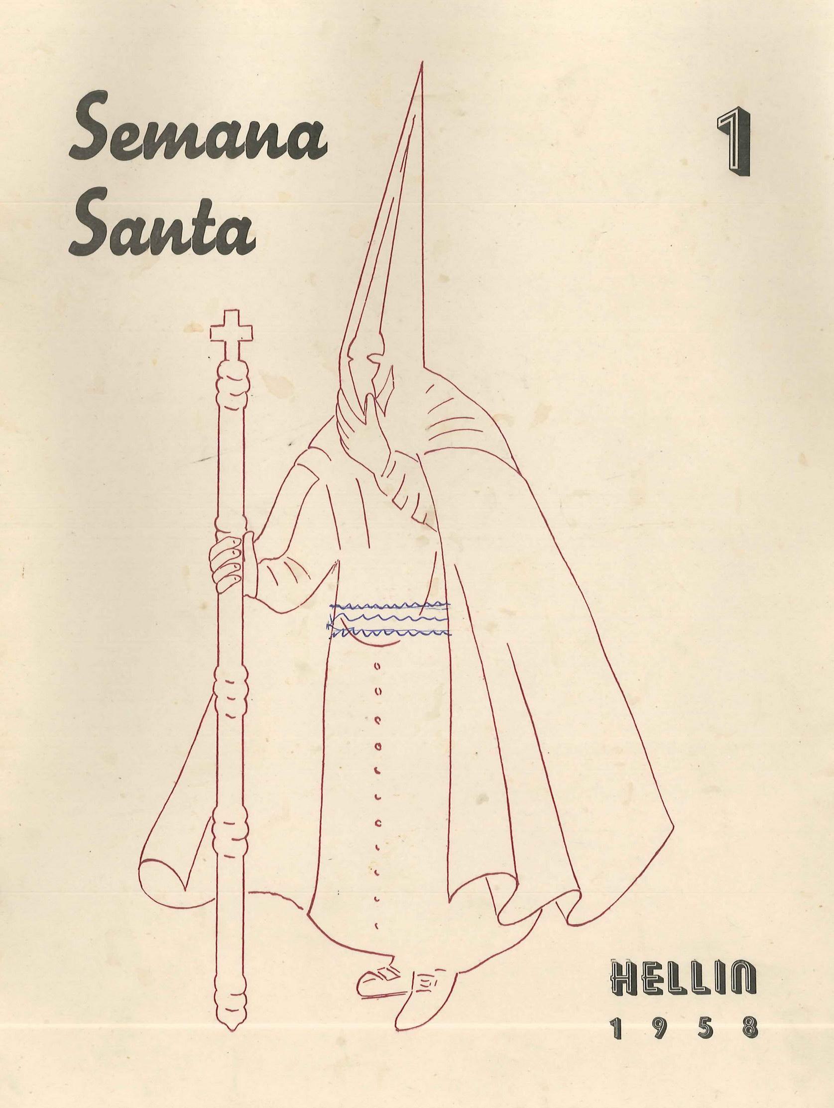 Boletín quincenal de información de la Federación de Hermandades - 1958 - n1
