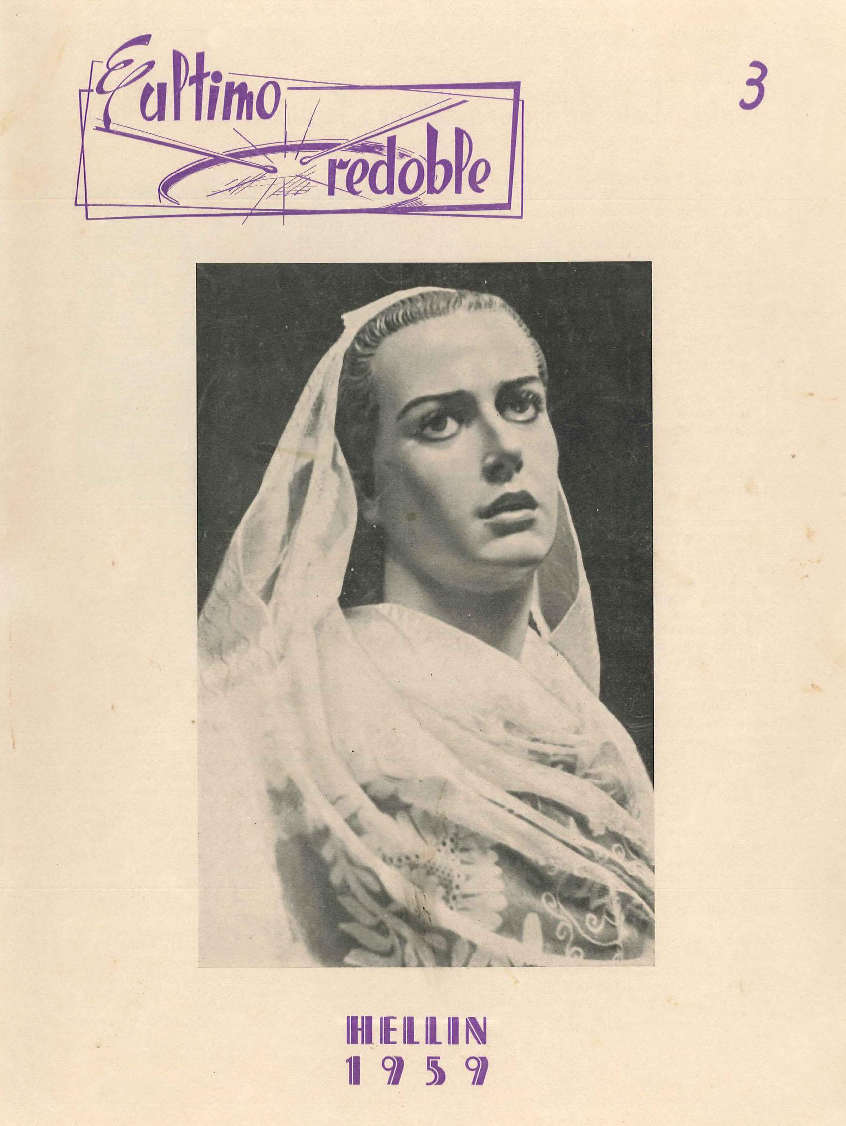 El último redoble - Boletín quincenal de información de la Federación de Hermandades - 1959 - n3