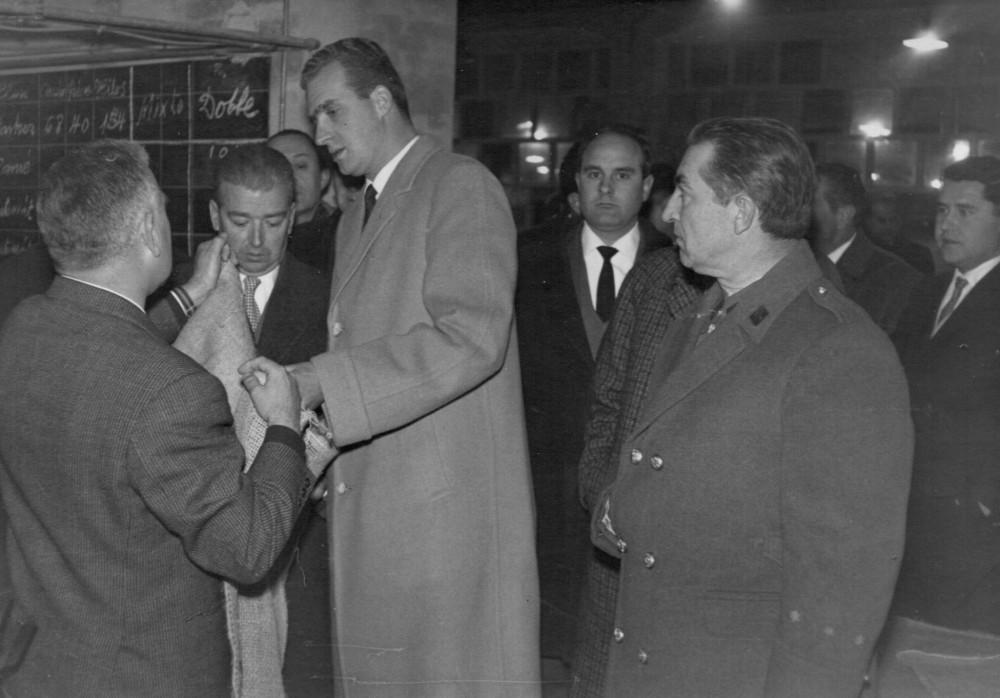 Visita del príncipe Juan Carlos a Hellín