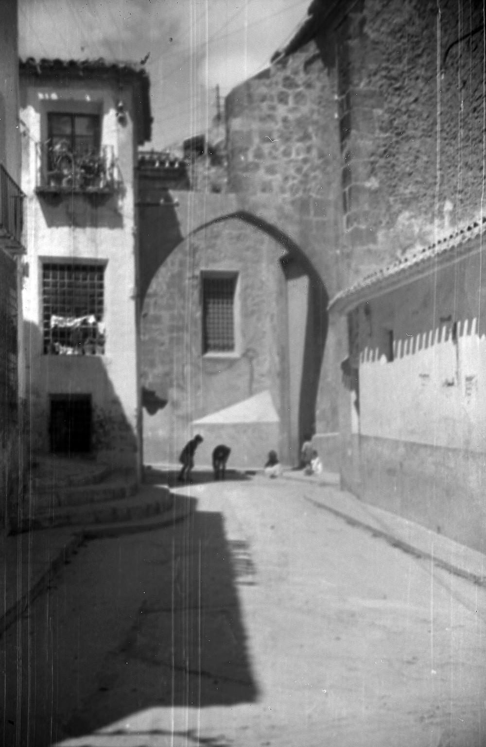 Arco del Salvador y calle Asunción