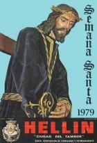 Programa de Actos de Semana Santa de Hellín - 1979