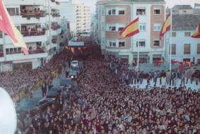 Visita de los reyes de España a Hellín - Recepción en el Ayuntamiento