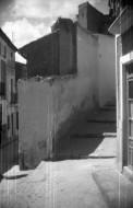 Esquina de calle Andalucía con calle Peligro